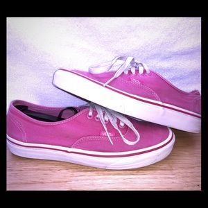 Other - Vans Authentic Pink Berry Men's Sz 7 Women's 5.5